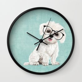 Mr Maltese Wall Clock
