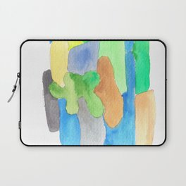 171013 Invaded Space  3  abstract shapes art design  abstract shapes art design colour  shapes art Laptop Sleeve