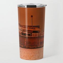 Coney Island - Gregory & Pauls in the winter Travel Mug