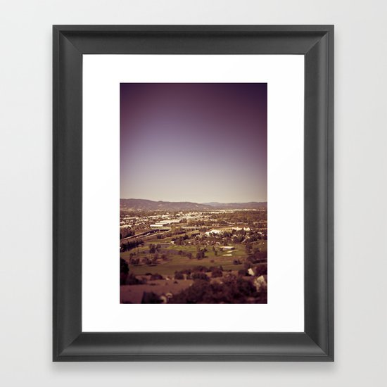 medford oregon Framed Art Print