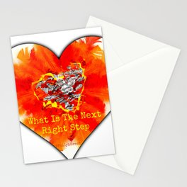 What Is The Next Right Step Stationery Cards