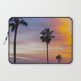 Palm Trees at Sunset Laptop Sleeve