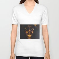 notorious V-neck T-shirts featuring NOTORIOUS by T.S. Dines