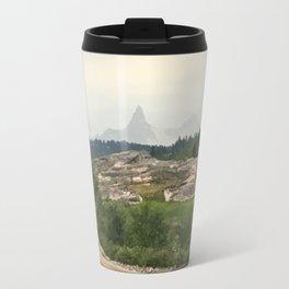 Misty Mountains of Wyoming Travel Mug
