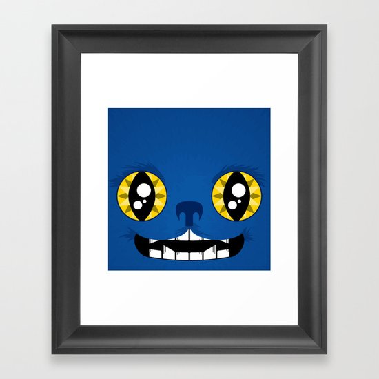 Adorable Beast Framed Art Print