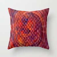 illusion Throw Pillows featuring Illusion... by Cherie DeBevoise