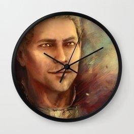 Cullen Templar Wall Clock