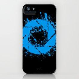 Portal Splatter Logo iPhone Case