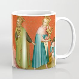Adoration of the Magi with Saint Anthony Abbot Coffee Mug