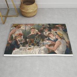 Auguste Renoir - Luncheon of the Boating Party (Le déjeuner des canotiers) Rug