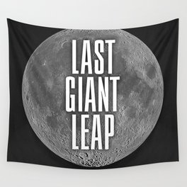 Last Giant Leap Wall Tapestry