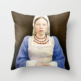 In the Style of... Hans Holbein the Younger, 2010 Throw Pillow