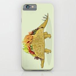 Tacosaurus - Taco Stegosaurus Dinosaur iPhone Case