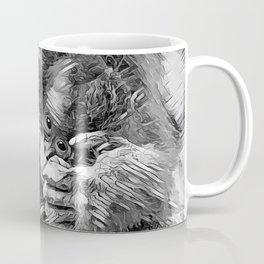 AnimalArtBW_OrangUtan_20170603_by_JAMColors-Special Coffee Mug