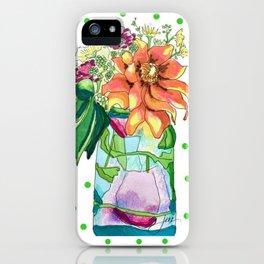 Summer in a Jar iPhone Case