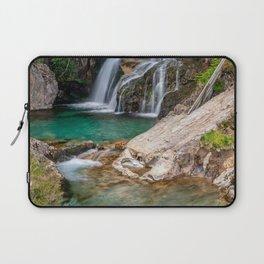 Watkin Path Waterfall Snowdonia Laptop Sleeve