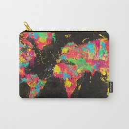 Psichedelic Continents Carry-All Pouch