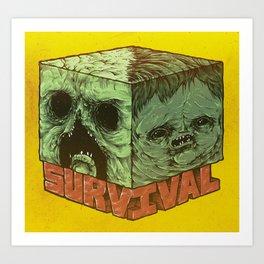 Survival Art Print
