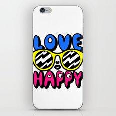 Love Happy iPhone & iPod Skin