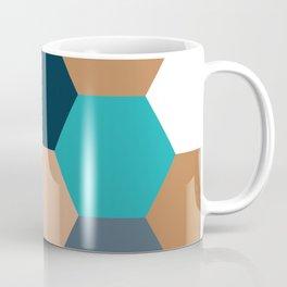 West Coast Hexagon Coffee Mug