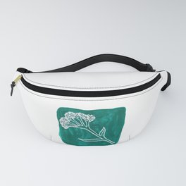 Wildflower Bundle Acrylic Painting Fanny Pack