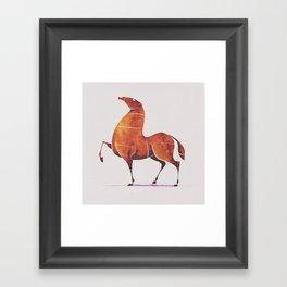 Horse 5 Framed Art Print