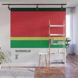 Pantone Fruit - Watermelon Wall Mural