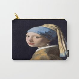Johannes Vermeer's Girl With a Pearl Earring Carry-All Pouch