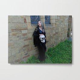 Skull Works Metal Print