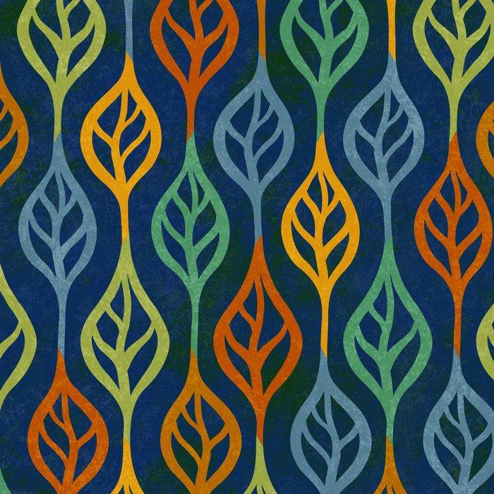 Autumn leaves pattern II Leggings