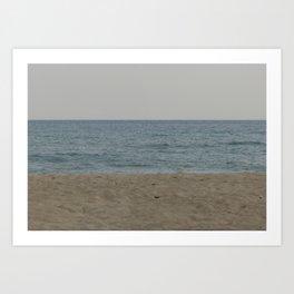 Sand Sea Sky Art Print