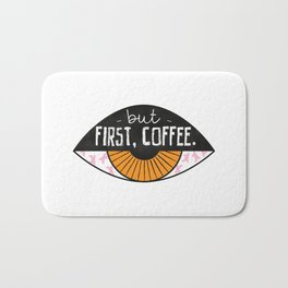 But first, COFFEE Bath Mat