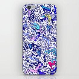 Kamasutra LOVE - Indigo Blue iPhone Skin