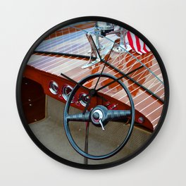 1947 Chris Craft Runabout Wall Clock
