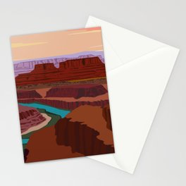 Magnificent Canyonlands National Park, Utah Stationery Cards