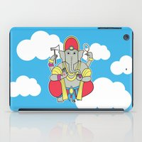ganesh iPad Cases featuring Ganesh by thestalewhale