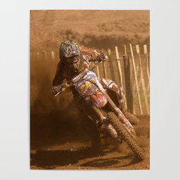 Riding in the dust Poster