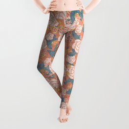 Give Me Roses in the Evening Leggings