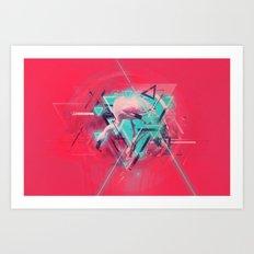 Neon Solstice Art Print