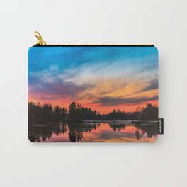 Summer Sunset over Lake Carry-All Pouch
