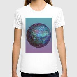 Kepler-22b blue gradient T-shirt