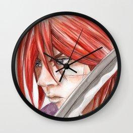 kenshin himura Wall Clock