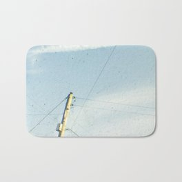 Crossed wires Bath Mat