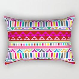 Mountain Stripe Kilim in Rainbow Multi Rectangular Pillow