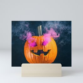 Smokey Jack o' Lantern Mini Art Print