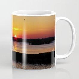 A beautiful sunset view of Lough Neagh Coffee Mug