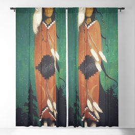Wise Woman Blackout Curtain