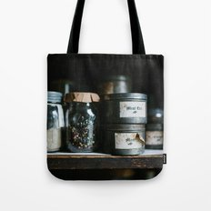 Vintage Pantry & Spices Tote Bag