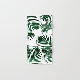 Tropical Palm Leaf Hand & Bath Towel