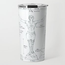 Victory Drawing, Transitions through Triathlon Travel Mug